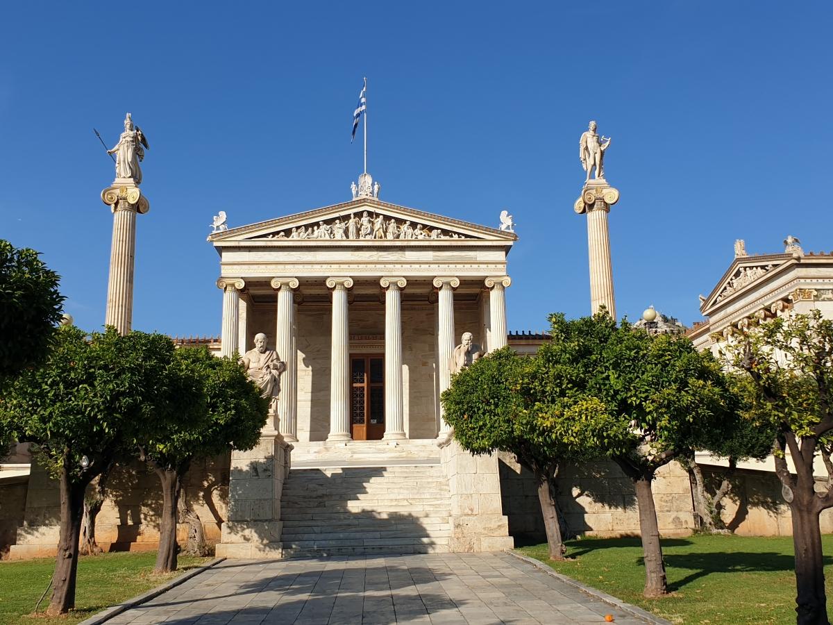 Η Αθήνα στο δείλι